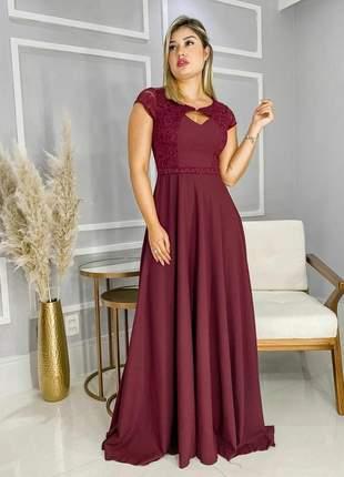 Vestido madrinha evangélico