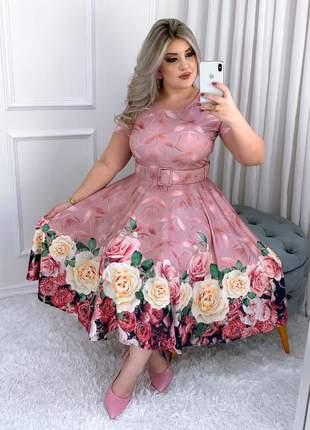 Vestido evangélico social festa manga curta madrinha de casamento