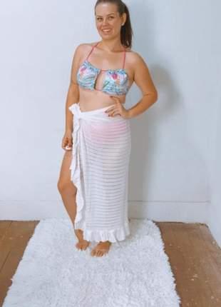 Saída de praia vem verão canga varias formas de usar moda praia roupa de praia feminina