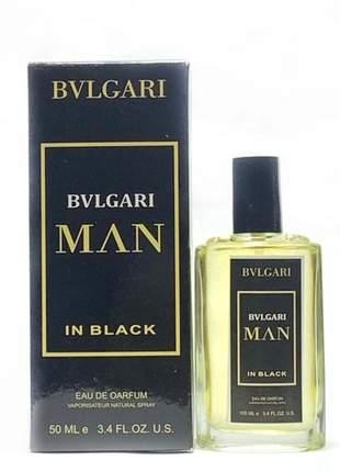 Perfume importado bvlgari men in black linha premium