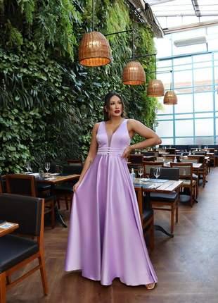 Vestido elegante madrinha e bravo pra noivinhas