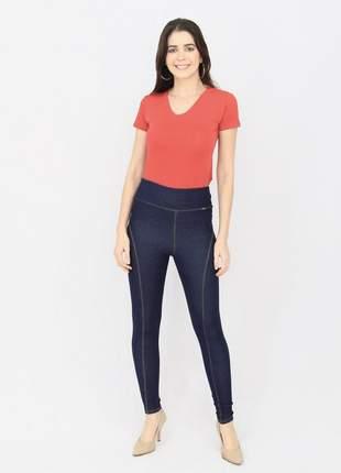Calça flex jeans montaria blue