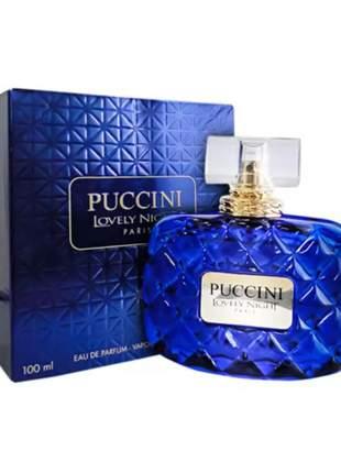 Puccini lovely night eau de parfum - perfume feminino 100ml