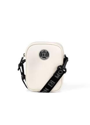 Bolsa retangular mini bag bell nevoa feminina ramarim 121108