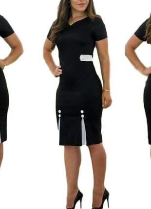 Vestido moda evangélica roupas femininas ref 647