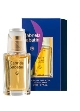 Gabriela sabatini eau de toilette - perfume feminino 20 ml
