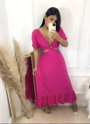 Belíssimo lançamento vestido feminino