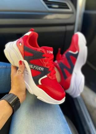 Tenis sport tommy hilfiger feminino
