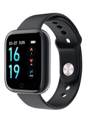 Relógio smartwach inteligente p70 com pulseira extra de brinde