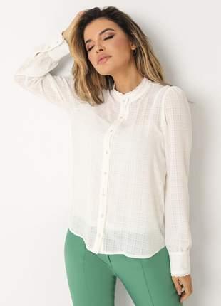 Camisa c/ renda 1075321