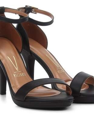Sandália vizzano meia pata salto alto feminina 6210.655