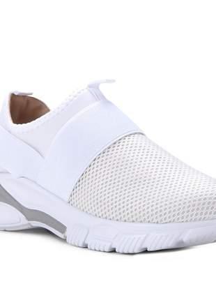 Tênis para caminhada vizzano com elástico moda 1362.203