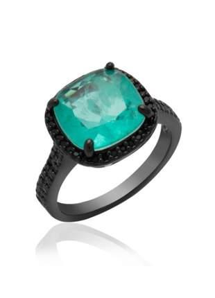 Anel com pedras esmeralda colombiana 16