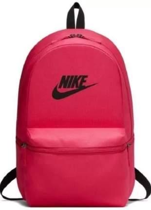 Mochila costas nike heritage 26 litros pink