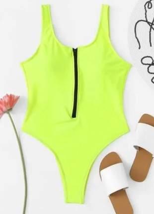 Maiô feminino neon moda tumblr blogueira