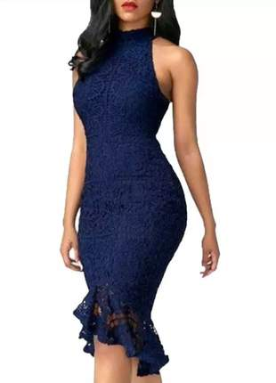 Vestido midi belo vestido