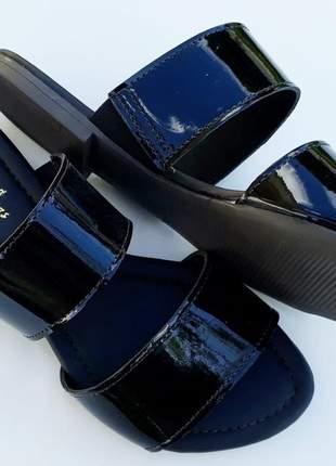Kit 2 pares sandália chinelo slide tiras