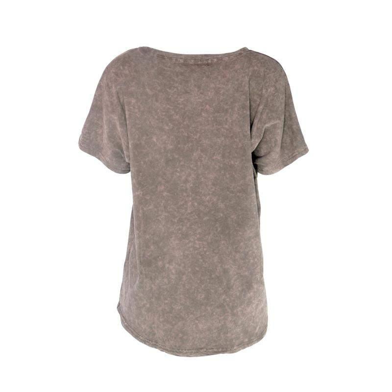 Infinity Shoes / Blusa infinity fashion t-shirt corôa marrom