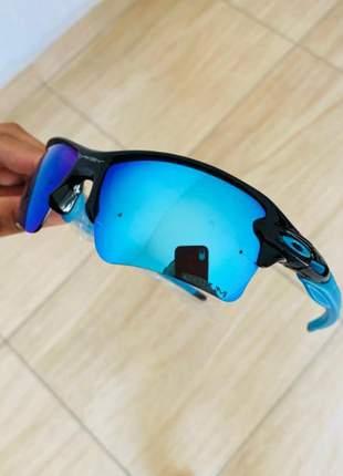 Óculos de sol oakley flak 1.0 e 2.0 prism polarizado