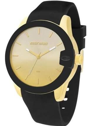 Relógio mormaii feminino com pulseira silicone mo2035bf/8m