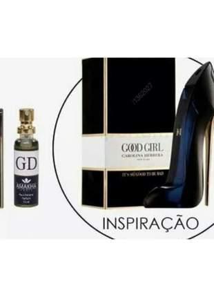 Perfume feminino good girl 15 ml amakha paris - parfum gd