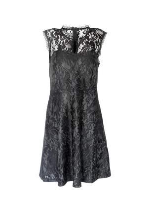 Vestido infinity fashion curto renda preto