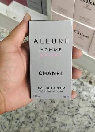 Perfume importado allure homme sport chanel 100ml