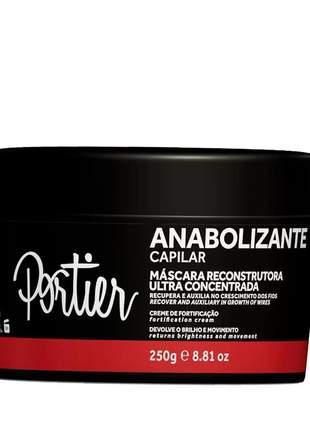 Máscara fortificante portier anabolizante capilar 250g