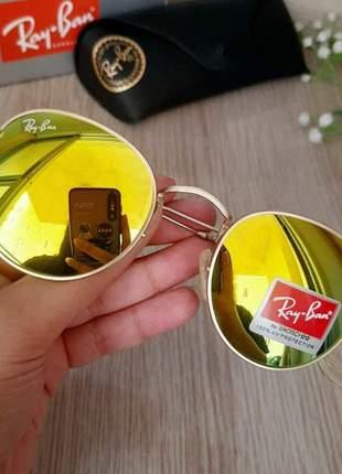 Oculos de sol ray-ban round
