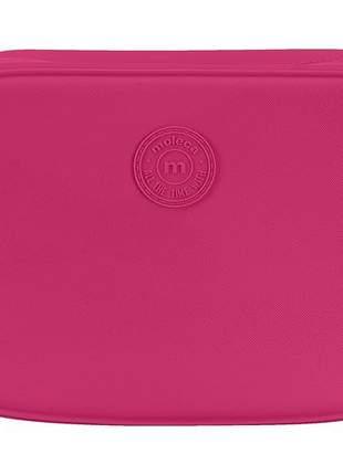 Bolsa quadrada média feminina moleca pink 5000722242