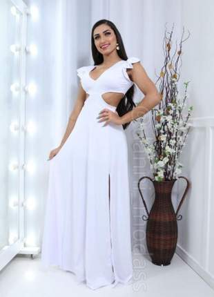 Vestido longo de festa, casamento, madrinha e formatura