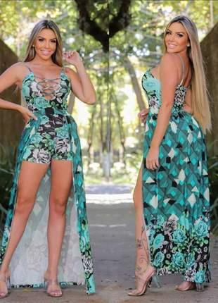 Macaquinho capa veste moda feminina blogueira