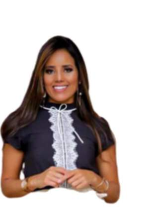 Blusa feminina gola alta cordão renda guipir moda evangelica