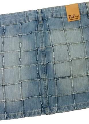 Mini saia jeans curta feminina moda blogueiras instagram