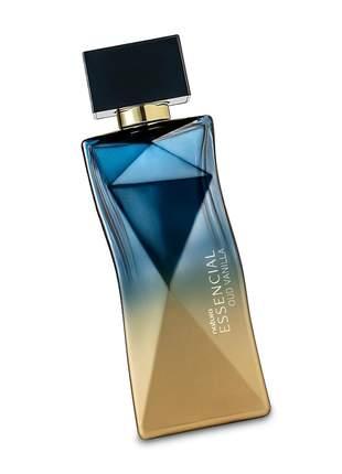 Perfume feminino essencial oud vanilla 100ml natura