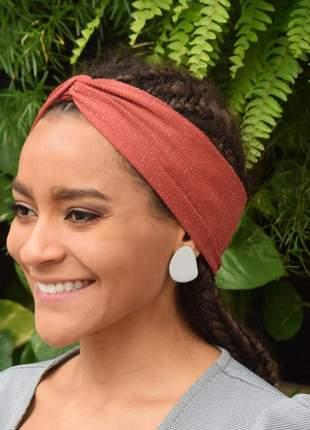 Faixa turbante da moda
