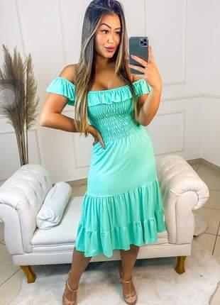 Vestido de festa ciganinha