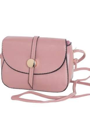 Bolsa feminina quintess rosê