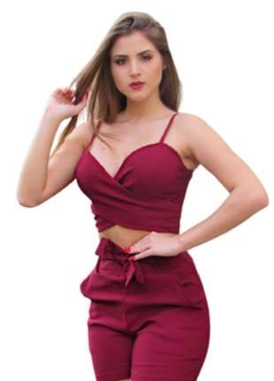 Short curto laço na cintura roupas femininas tecido bengaline
