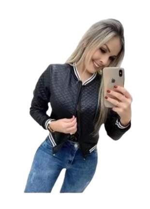 Jaqueta bomber tecido mantelace roupas feminino