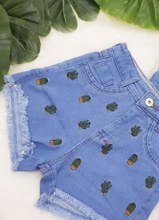 Short jeans modinha juliette