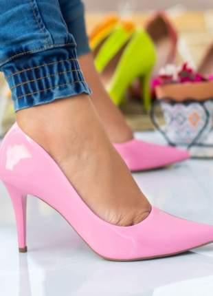 Scarpin feminino confort pink