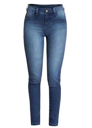 Calça jeans skinny feminina quintess
