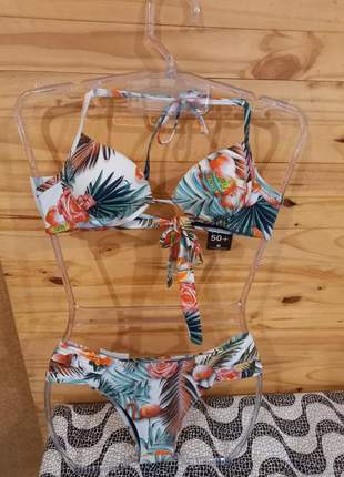Biquínis flamingo uv50 +