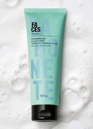 Sabonete gel para rosto faces - 120g