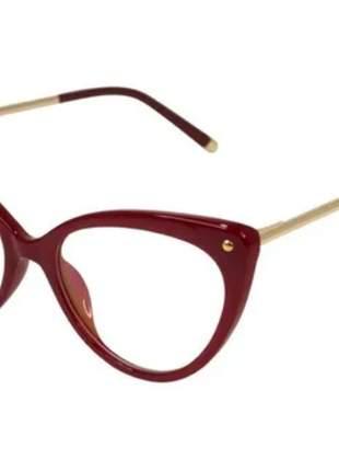 Óculos p/grau armações tr90 metal geek novidade