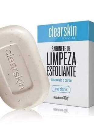 Avon sabonete facial clearskin skin care