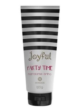 Hidratante brilho corporal party time joyful 120g hinode