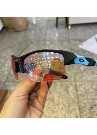Oculos de sol oakley flak jacket 2.0 lente prizm barbie top juliet mandrak 24k penny