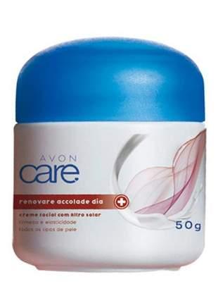 Skin care renovare accolade dia creme facial filtro solar 50g avon